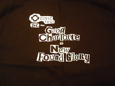 Good Charlotte/New Found Glory Crew limited edition T-shirt Brand New/Never Worn