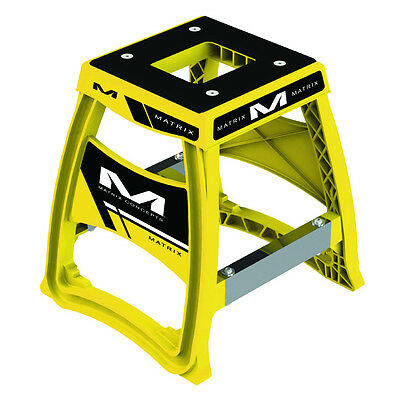 Matrix Concepts M64 Elite MX Stand - Yellow Motocross Offroad Service Garage Sto