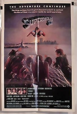 Superman 2 Original 1981 1St Release 1Sht Movie Poster Christopher Reeves Ex