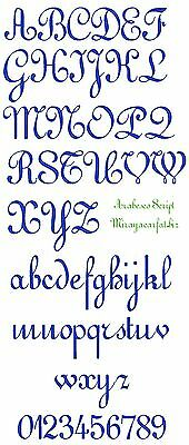 FONT DESIGN: ARABESCO for MACHINE EMBROIDERY DESIGN, FAST & FREE EMAIL