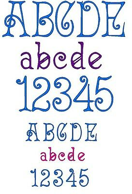 FONT DESIGN: ACADIAN for MACHINE EMBROIDERY DESIGN, FAST & FREE EMAIL