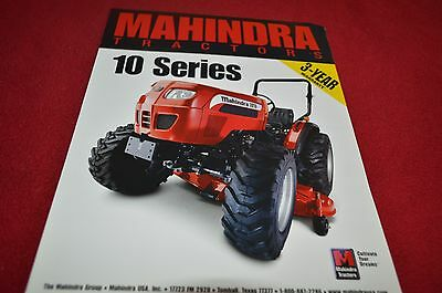 Mahindra 2310 2310 HST 2810 3510 4110 Tractor Dealer's Brochure YABE12