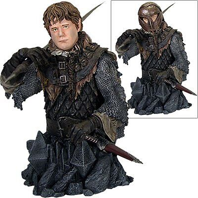 Gentle Giant Lord of the Rings Sam Gamgee in Orc Armor Bust