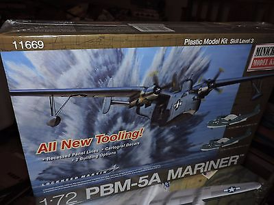 MINICRAFT 1/72nd SCALE PBM-5A MARINER  MODEL KIT ( # 11669 )