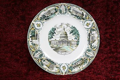 The Capitol Washington DC Collector Imperial Service Plate Salem China Co USA