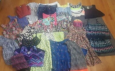 Girls Dress Shorts Tops Shirts 34 pc Lot Gap Nordstrom Justice Old Navy 14 XL