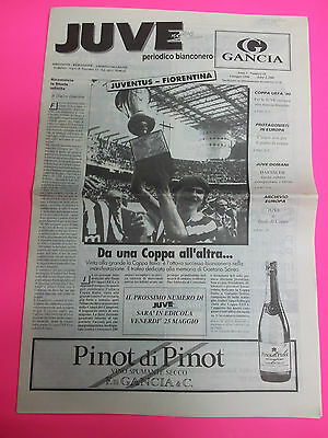 1990 UEFA Cup Final: Fiorentina v Juventus (1st Leg Juve News issue)
