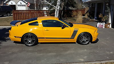 2013 Ford Mustang Boss 302 Coupe 2-Door Laguna Seca Conversion 2013 Ford Mustang Boss 302 Coupe 2-Door 5.0L  - Laguna Seca Conversion