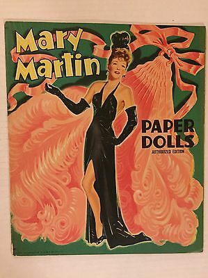 VINTAGE Paper Doll - Mary Martin - Saalfield