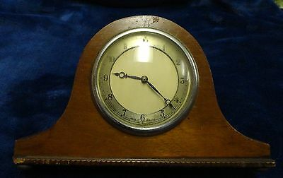 Antique Mantel Clock With Key Made In England