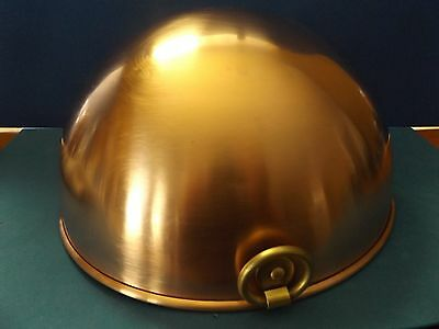 "Vintage 1801 Paul Revere Copper Whisking Bowl 10"" Beautiful Condition"