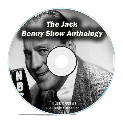 The Jack Benny Show Anthology, 869 shows, ALL KNOWN Shows Old Time Radio DVD F72