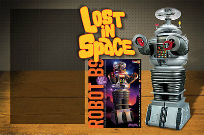 """""""Lost in Space""""  B9 Robot 1/6 scale Model Kit by Moebius mint in box unbuilt"""