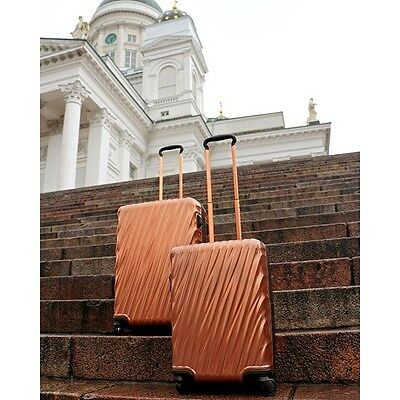 Tumi 19 Degree International Carry-On POLYCARBONATE COPPER $595