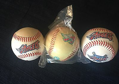 Anaheim Angels Limited Edition Baseball Lot of 3 New