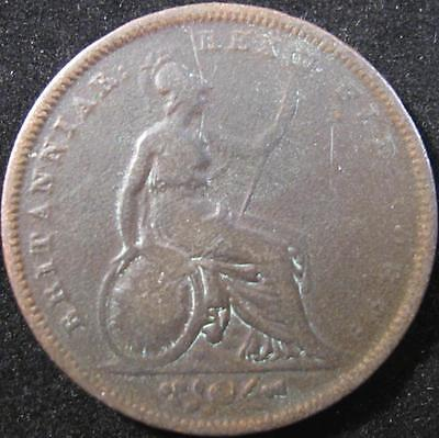Gb15 - 1831 - Great Britain - One Penny Coin - Nr
