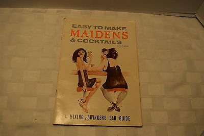 Vintage Easy To Make Maidens & Cocktails, 1965