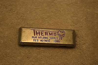 Vintage Thermo Welding Tip Cleaners, R&R Welding Supply Co, Des Moines, Iowa