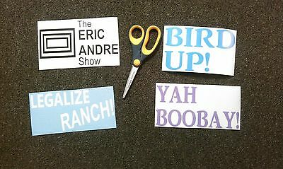 Eric Andre Show / Legalize Ranch Sticker Pack, Die Cut Stickers, Vinyl Decals