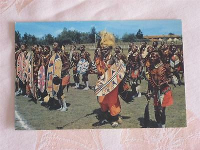 Chrome Pc Colorful Picture Of African Dancers, Possibly Kenya