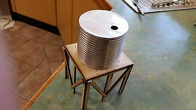 laser cut G scale  water tank and stand