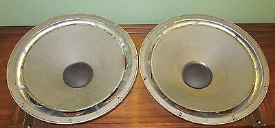 "Two (2) Fisher 15"" Woofers out of Fisher ST-460 Speakers"