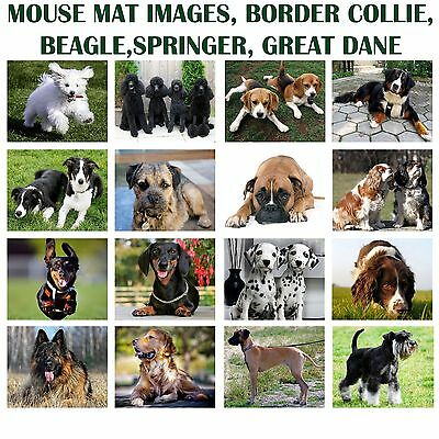 Pc Computer Mouse Pad Mouse Mat Mice Pad 30 Different Dog Images To Pick! Dogs