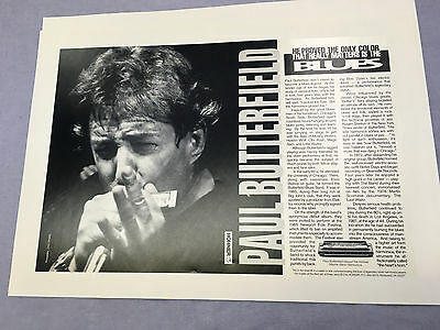 Hohner , Paul Butterfield , Poster , excelent condition