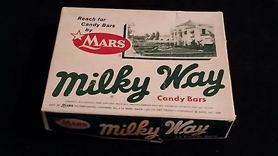 Milky Way  Vintage Empty General Store Advertising Mars Bars Candy Box