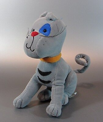 Vintage Dolls Gilbert the Cat Chat plush Cinar Soft fleece serie 2001 Caillou
