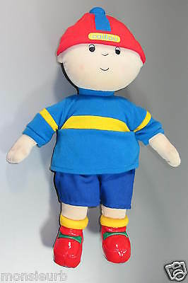 "Caillou Character Cinar Soft fleece large 13"" Plush doll 2004 Cinar - Chouette"