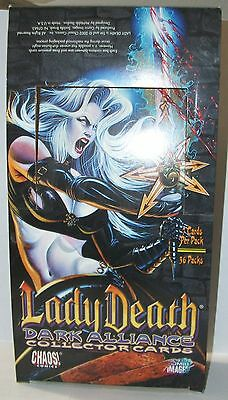 2002 Comic Images Lady Death - Dark Alliance empty box only