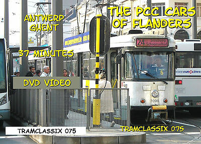 The PCC Cars of Flanders - trolley DVD Video