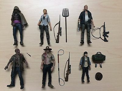 McFarlane Walking Dead Loose Action Figure Lot Ser 1 Daryl Rick Merle Michonne +