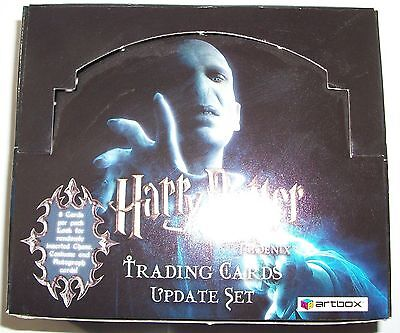 2007Artbox Harry Potter and the Order of the Phoenix Collectors' Update box only