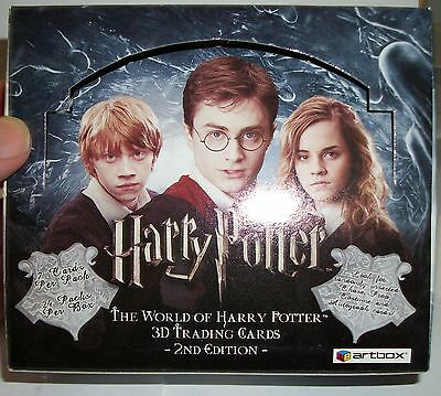 2008 Artbox The World of Harry Potter 3D 2nd Edition box only