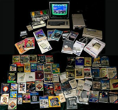 Commodore 64 C64 With Tons Of Software, Accessories & Extras Excellent Condition