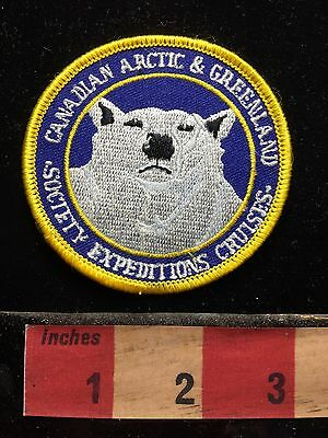 Polar Bear Canadian Arctic & Greenland Society Expeditions Patch 72Z0