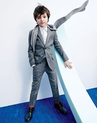 BOYS KIDS suit Wedding Groom Tuxedos Boys Children Party Prom Suits ...