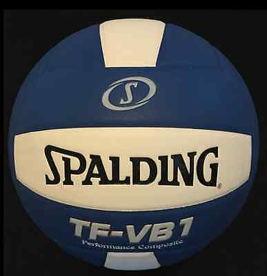 Spalding Volleyball TF-VB1 Performance Composite NFHS Approved Royal Blue