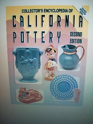 Vintage California Pottery Price Guide Collector's Book