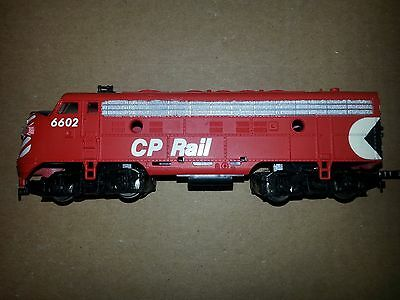 Model Power F9 CP Locomotive 6602 Tested