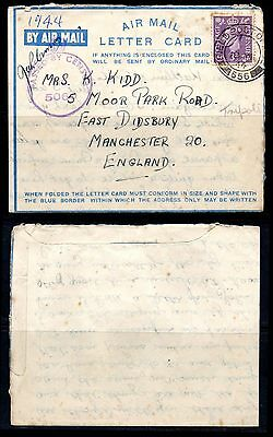 [1136] 1944 English Postal History, Field Post Office, Censor 5060, Manchester
