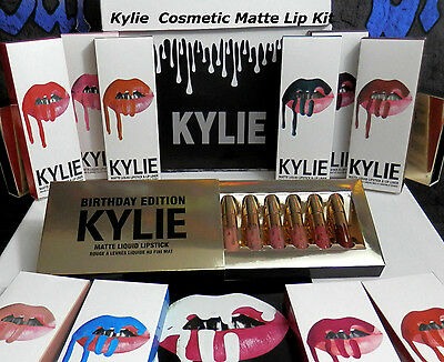 Kylie Cosmetic Genuine Kylie Jenner Matte Lip Kits With Liner