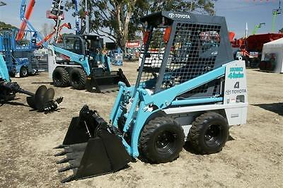 Bobcat – Toyota Husky 4SDK4 Mini Skid Steer $220 a day delivery available