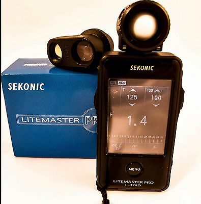 Sekonic Lightmaster Pro L478D with 5 Degree Spot Viewfinder