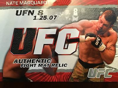 Topps Ufc 2009 Round 2 Nate Marquardt Fight Mat Relic