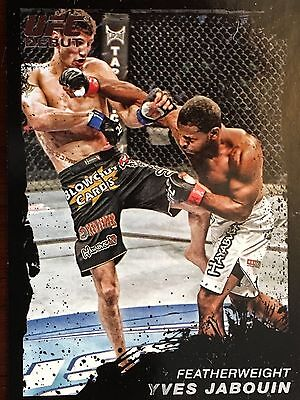 Topps Ufc 2011 Yves Jabouindebut Card # 153 Numbered 08/88
