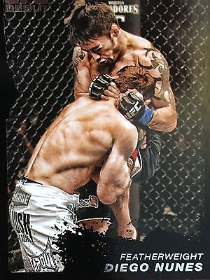 Topps Ufc 2011 Diego Nunes Rookie Card # 127 Numbered 28/88