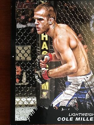 Topps Ufc 2011 Cole Miller Card # 187 Numbered 38/88